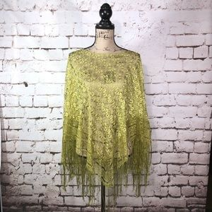 Green Cover Up or Poncho